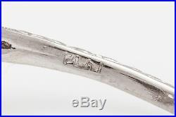 Antique 1920s $10,000 1.15ct Old Euro Diamond Platinum Filigree Ring