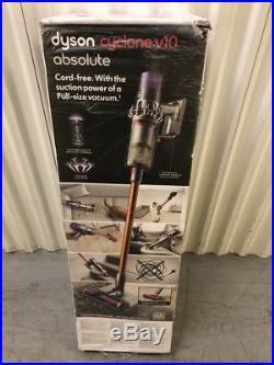 DYSON Cyclone V10 Absolute Cordless Vacuum Cleaner EU MODEL 2 Pin Plug Warranty