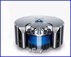 DYSON Robot 360eye Robot Vacuum Cleaner Blue & Nickel Brand New In Box