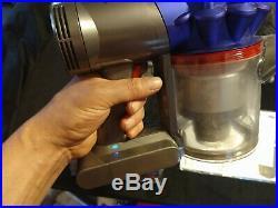 DYSON V7 Motorhead Origin Cordless Vacuum Purple (NEARLY UNUSED) Free Shipping