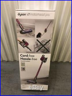 DYSON V7 Motorhead Pro Cordless Vacuum Cleaner Red/Silver NEW SEALED EU MODEL