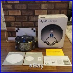 Dyson 360 Eye RB01NB Robot Vacuum Cleaner Cyclone Cordless Nickel Blue Japan