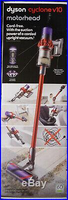 Dyson Cyclone V10 Motorhead Cordless Stick Vacuum Cleaner Red # 244393-01