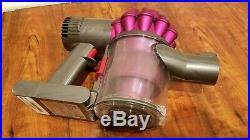 Dyson SV04 Motorhead Cordless Hand Held Vacuum Cleaner, 210691-02 Fuschia