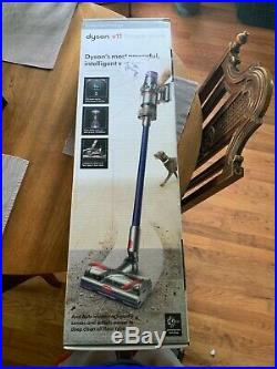 Dyson V11 Torque Drive Cord-Free Vacuum Blue/Nickel NEWithFACTORY SEALED