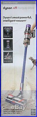 Dyson V11 Torque Drive Cordless Stick Vacuum Blue Model # 268731-01 Newest Tech