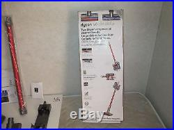Dyson V6 Absolute Cordless Vacuum-Red/Silver- New