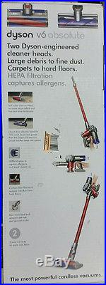 Dyson V6 Absolute Gray/Red Stick Cleaner