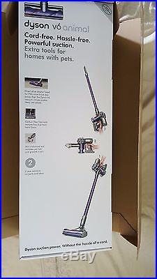 Dyson V6 Animal Cord-Free Stick Vacuum Slate Gray Never Used stil N I B
