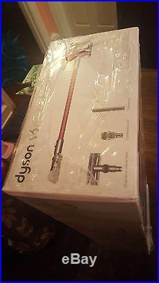 Dyson V6 Motorhead Gray/Fuchsia Stick Cleaner -New In Box