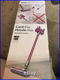 Dyson V6 Motorhead Stick Cleaner Pink
