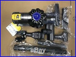 Dyson V6 Trigger Cordless Handheld Vacuum Cleaner Nickle- Sellers Refurbished