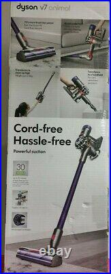Dyson V7 Animal 350W Cordless Handheld Vacuum Cleaner Purple Brand New RRP £299