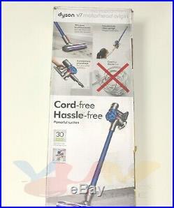 Dyson V7 Cord-Free Motorhead Origin Stick Vacuum Cleaner Blue New
