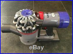 Dyson V8 Absolute Cordless Vacuum Cleaner, with two turbo brushes, spare bin