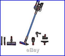 dyson v8 absolute cordless vacuum hepa filtration nib bonus tools blue - Dyson Absolute