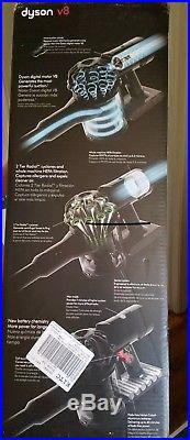 Dyson V8 Animal Cord-free Stick Vacuum in Nickel/Titanium SV10