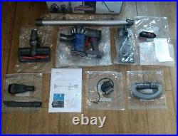 Dyson v6 Animal Vacuum Upgraded, Cleaned, New 3500a Battery, Manual Plus Extras
