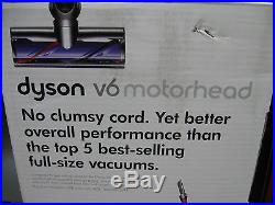 New Dyson V6 Motorhead Vacuum Cleaner Bagless Cordless Lightweight Fushia