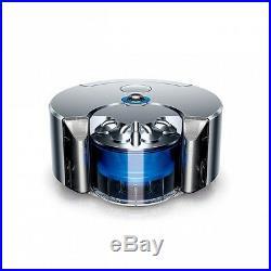 New Dyson 360 Eye RB01 NB Robot Vacuum Cleaner Nickel / Blue Japanese Ver. EMS