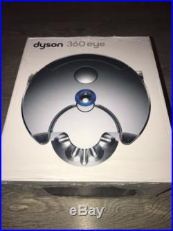 New Dyson 360 eye Robot Vacuum Cleaner RB01NB Blue & Nickel 360eye Smart Navigat