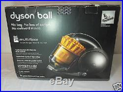 New Dyson Ball DC39 Multi Floor Bagless Canister Vacuum 5 Year Warranty