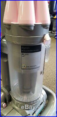 Pink Dyson DC07 Vacuum Cleaner, with Warranty Breast Cancer Awareness edition